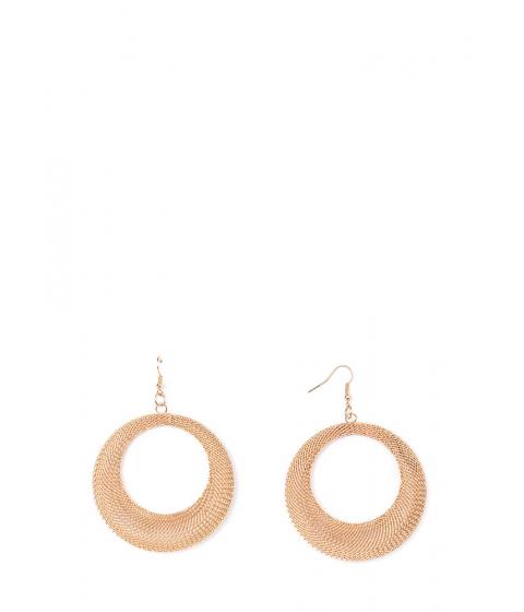 Bijuterii Femei CheapChic Meshing Around Thick Hoop Earrings Gold