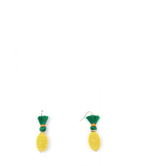 Bijuterii Femei CheapChic Pina Colada Beaded Earrings Gold