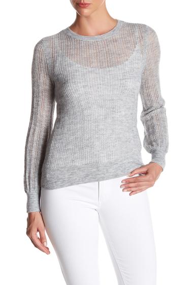 Imbracaminte Femei Rebecca Taylor Cloud Crew Neck Sweater LIGHT GREY HEATHER