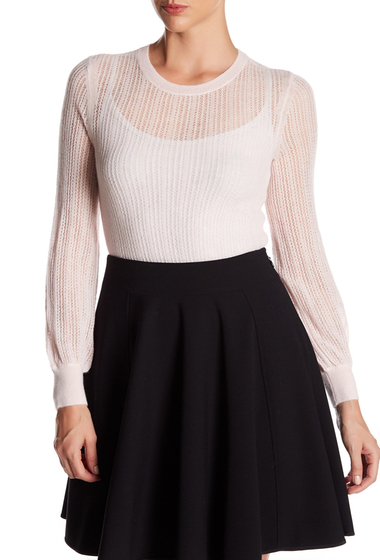 Imbracaminte Femei Rebecca Taylor Cloud Crew Neck Sweater PALE BLUSH