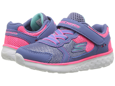 Incaltaminte Fete SKECHERS Go Run 400 (Toddler) BlueNeon Pink