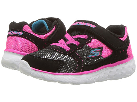 Incaltaminte Fete SKECHERS Go Run 400 (Toddler) BlackHot Pink