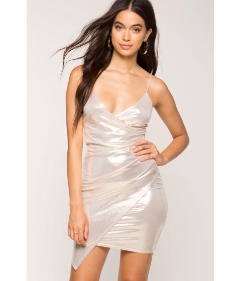 Imbracaminte Femei CheapChic Golden Girl Wrap Dress Met Gold