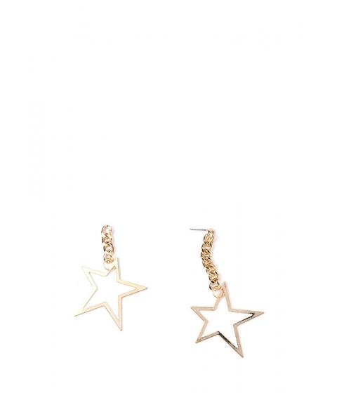 Bijuterii Femei CheapChic Star Power Asymmetrical Earrings Gold