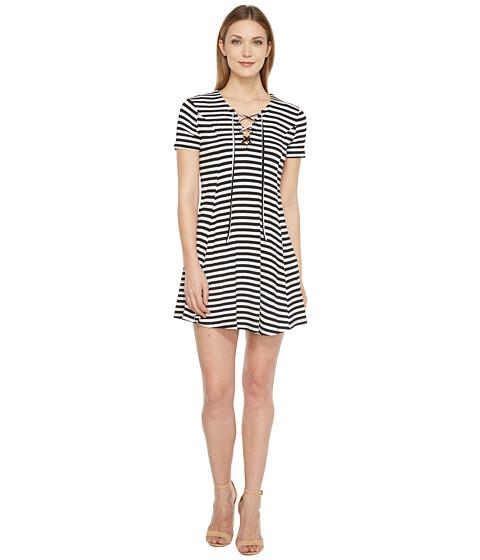 Imbracaminte Femei Culture Phit Merrin Short Sleeve Tie-Front Dress Black