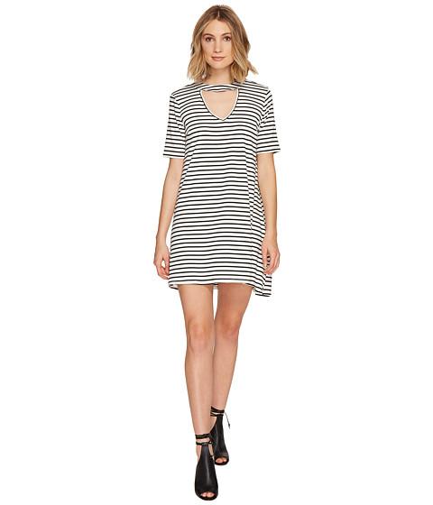 Imbracaminte Femei Culture Phit Marion Striped Keyhole Dress White