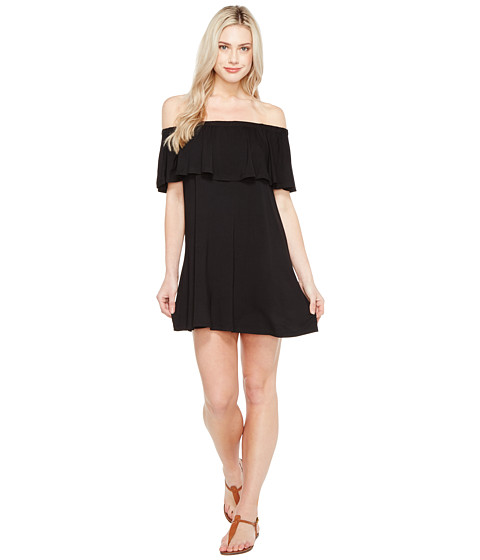 Imbracaminte Femei Culture Phit Summer Off the Shoulder Ruffle Dress Black