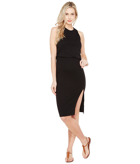 Imbracaminte Femei Culture Phit Bisette Sleeveless Midi Dress with Side Slit Black