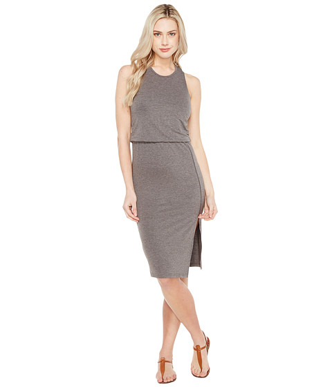 Imbracaminte Femei Culture Phit Bisette Sleeveless Midi Dress with Side Slit Charcoal