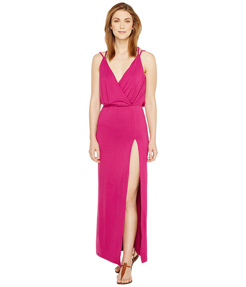 Imbracaminte Femei Culture Phit Elea Spaghetti Strap Maxi Dress with Side Slit Purple