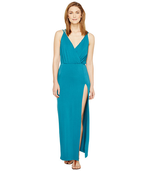 Imbracaminte Femei Culture Phit Elea Spaghetti Strap Maxi Dress with Side Slit Teal