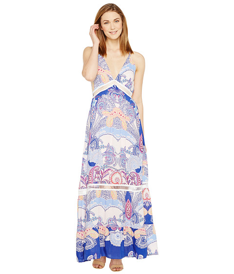Imbracaminte Femei Brigitte Bailey Shaleen Spaghetti Strap Maxi Dress with Lace Inset Light PinkMulti