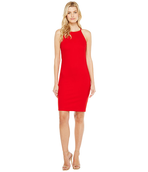 Imbracaminte Femei Christin Michaels Sigrid High Neck Spaghetti Strap Dress Red
