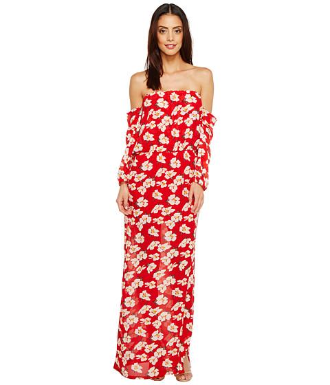 Imbracaminte Femei Brigitte Bailey Ruby Off the Shoulder Maxi Dress Red