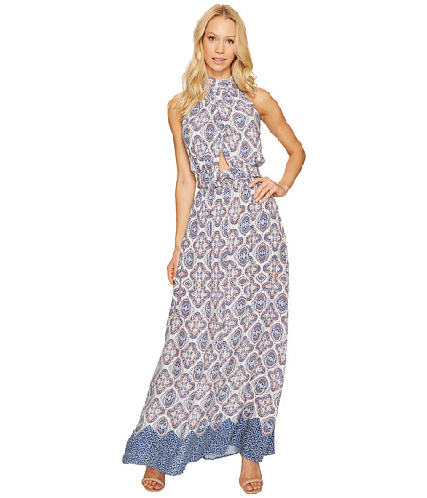 Imbracaminte Femei Brigitte Bailey Katelina Halter Maxi Dress NavyCoral