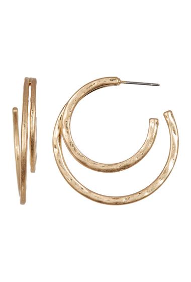 Bijuterii Femei Melrose and Market Double Hoop Earrings GOLD