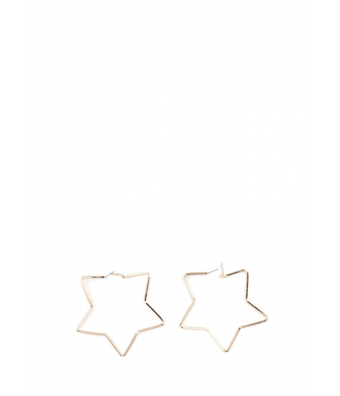 Bijuterii Femei CheapChic Reach For The Stars Oversized Earrings Gold