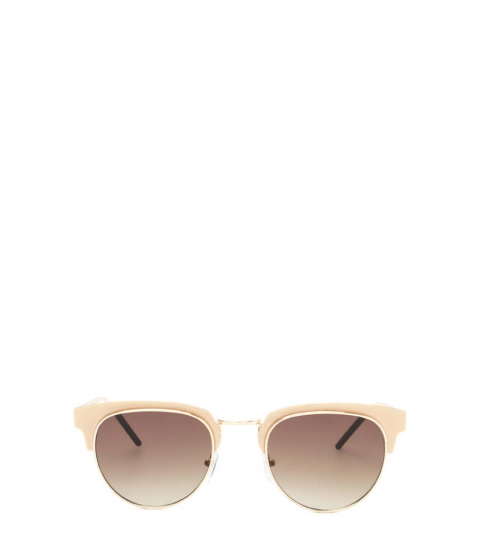 Accesorii Femei CheapChic Vintage Queen Brow Bar Sunglasses Gold