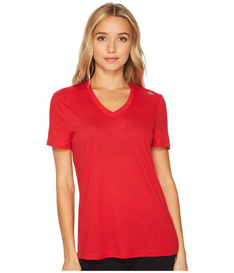 Imbracaminte Femei Reebok Supremium V-Neck Tee Excellent Red