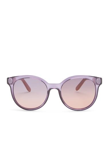 Ochelari Femei Salvatore Ferragamo Womens Round Acetate Sunglasses CRYSTAL PURPLE