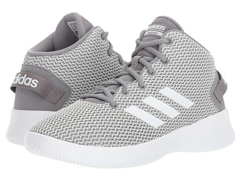 Incaltaminte Fete adidas Kids Cloudfoam Refresh Mid (Little KidBig Kid) Grey OneFootwear WhiteGrey Three