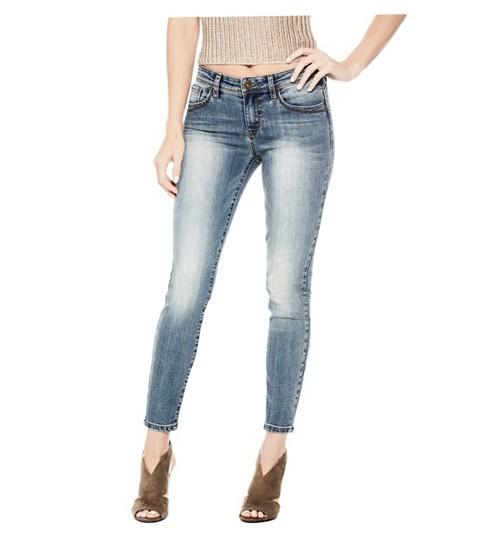 Imbracaminte Femei GUESS Beyla Curvy Mid-Rise Skinny Jeans medium destroy wash