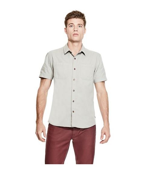 Imbracaminte Barbati GUESS Park Twill Shirt stone grey