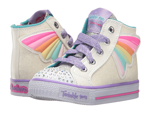 Incaltaminte Fete SKECHERS Wander Wingz (Toddler) WhiteMulti