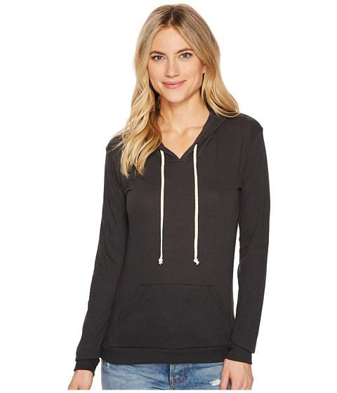 Imbracaminte Femei Alternative Apparel Eco Jersey Classic Pullover Hoodie Eco True Black