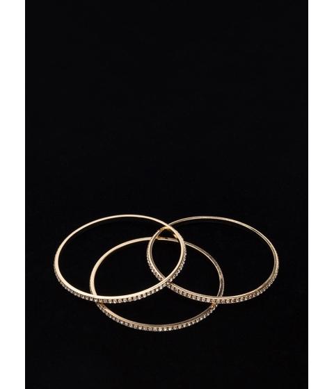 Bijuterii Femei CheapChic New Treasures Sparkly Bangle Set Gold