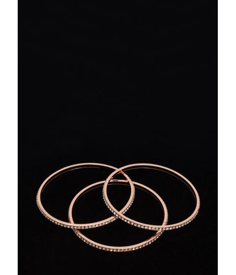 Bijuterii Femei CheapChic New Treasures Sparkly Bangle Set Rosegold