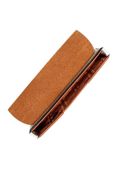 Genti Femei Lodis Accessories Blair Leather Mini Card Case BLACKCARAMEL