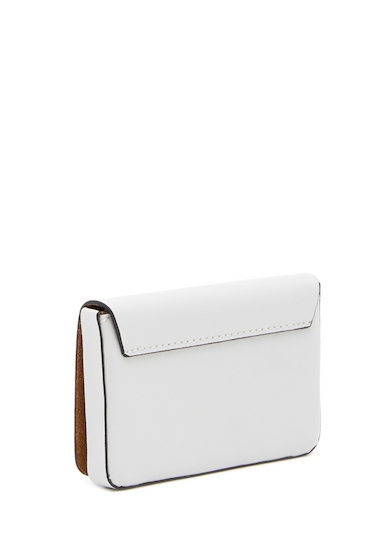 Genti Femei Lodis Accessories Blair Leather Mini Card Case CEMENTCARAMEL