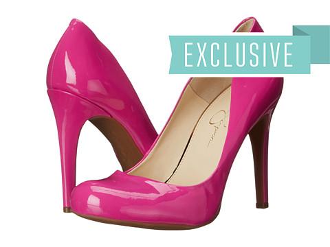 Incaltaminte Femei Jessica Simpson Calie Hot Shot Pink Patent