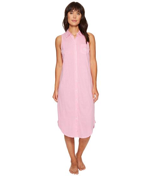 Imbracaminte Femei LAUREN Ralph Lauren Sleeveless Ballet Shirt Pink Stripe