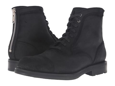 Incaltaminte Barbati Frye Brayden Bal Lace-Up Black Waxed Vintage Leather