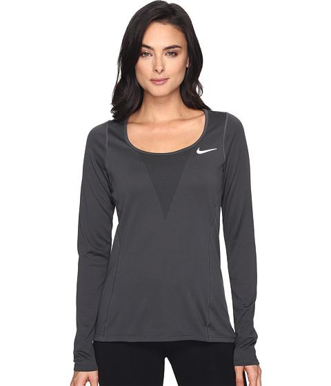 Imbracaminte Femei Nike Zonal Cooling Relay Long Sleeve Running Top Black