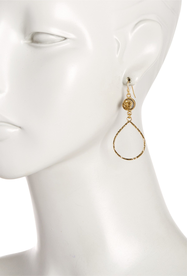 Bijuterii Femei Melrose and Market Druzy Teardrop Earrings GOLD-GOLD