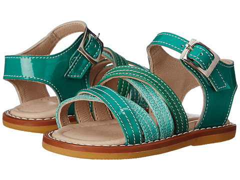 Incaltaminte Fete Elephantito Crossed Sandal (Toddler) PTN Green