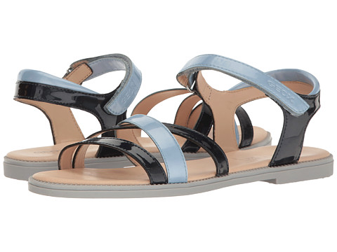 Incaltaminte Fete Geox Jr Sandal Karly Girl 11 (Big Kid) NavyLight Avio