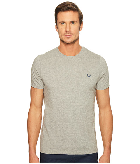 Imbracaminte Barbati Fred Perry Textured Stripe T-Shirt Steel Marl