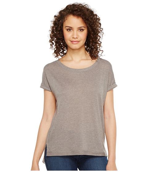 Imbracaminte Femei Alternative Apparel Eco Gauze Drift Short Sleeve T-Shirt Grey Storm