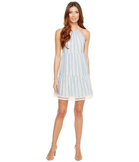 Imbracaminte Femei Maggy London Halter Shift Dress with Shirring ChampagneCream
