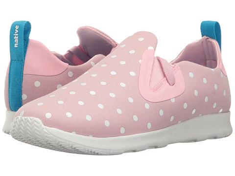 Incaltaminte Fete Native Shoes Apollo Moc Polka Dots (Little Kid) Princess PinkShell WhiteShell Dots