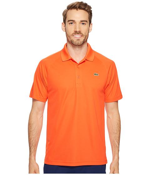 Imbracaminte Barbati Lacoste Sport Short Sleeve Ultra Dry Raglan Sleeve Polo Mexico Red