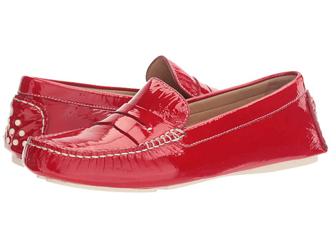 Incaltaminte Femei Johnston Murphy Maggie Penny Red Italian Soft Patent Leather
