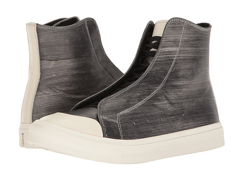 Incaltaminte Barbati Alexander McQueen Clean High Top Sneaker IvorySilver