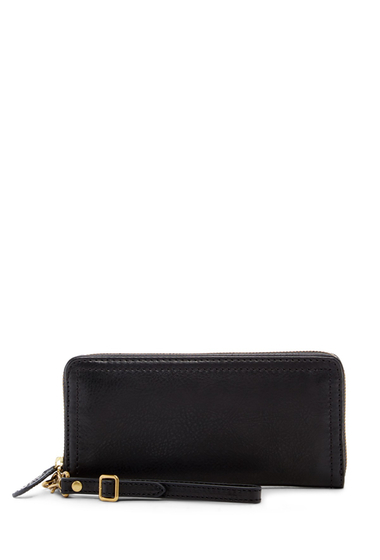 Genti Femei Frye Claude Zip Wallet BLACK
