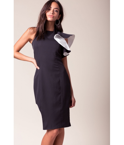 Imbracaminte Femei CheapChic Vivian Asymmetrical Column Dress Black