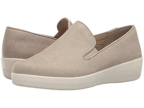 Incaltaminte Femei FitFlop Superskate Denim Toasty Beige